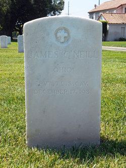 Pvt James O'Neill