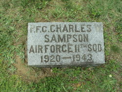 PFC Charles W Sampson