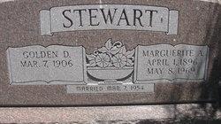 Marguerite A Stewart