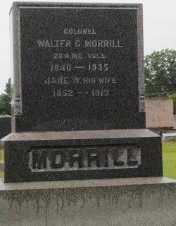 Jane W Morrill