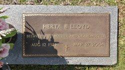 Herta B. Lloyd
