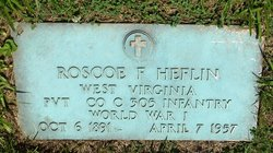 Pvt Roscoe Fontaine Heflin