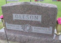 Florence <I>Dalberg</I> Oleson