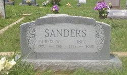 Burris W Sanders