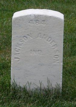 Pvt Jackson Anderson