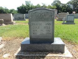 Prayse Ann <I>Cole</I> Bell