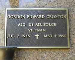 Gordon Edward Croxton