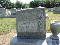 Edith Virgie <I>Taylor</I> Creef