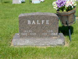 Irene May <I>Tabor</I> Balfe