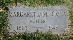 "Margaret Jane ""Jennie"" <I>Steele</I> Rozsa"