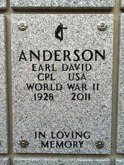 Earl David Anderson