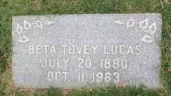Beta <I>Tovey</I> Lucas