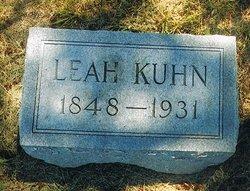 Leah <I>Hunter</I> Kuhn