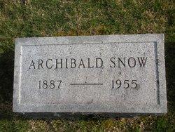 Archibald Snow
