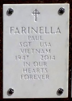 Paul Joseph Farinella 1947 2014 Find A Grave Memorial