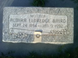 Almira Lambert <I>Eldredge</I> Baird