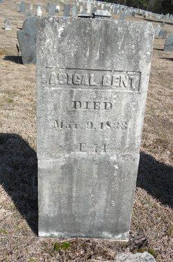 Abigail <I>Goodenow</I> Bent