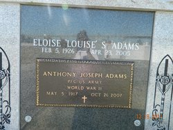 "Eloise ""Louise"" <I>Savoie</I> Adams"