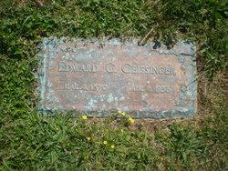 Edward G. Geissinger