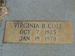 Anna Virginia <I>Bailey</I> Cole