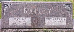 Betty Jo <I>Chisholm</I> Bailey