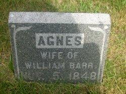 Agnes <I>Gray</I> Barr