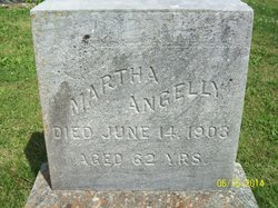 Martha S <I>Coker</I> Angelly