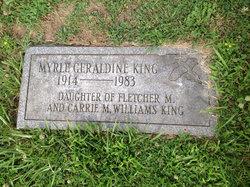 Myrle Geraldine King