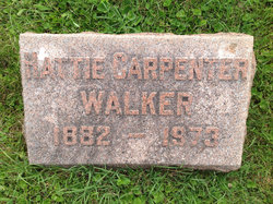 Hattie <I>Carpenter</I> Walker