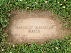 Margaret Elizabeth <I>Ross</I> Roseberry