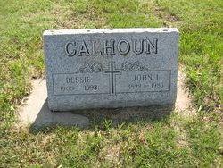 Bessie <I>Jones</I> Calhoun
