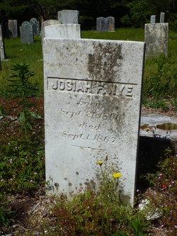 Josiah F Nye