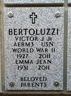 Victor J Bertoluzzi, Jr