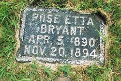 Rose Etta Bryant