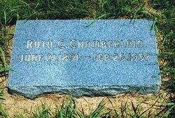 Ruth C Chamberlain