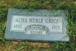 Alma Merle <I>Kennedy</I> Grice