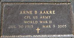 Arne B Aakre