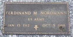 Ferdinand M Nordmann