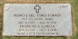 Francisca <I>Garcia de</I> Del Toro