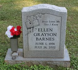 Ellen Jnell <I>Grayson</I> Barnes