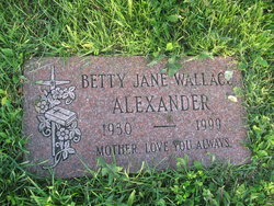 Betty Jane <I>Wallace</I> Alexander