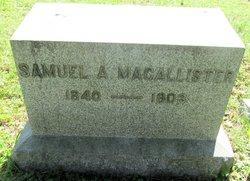 Samuel Allister MaCallister