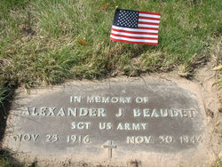 Sgt Alexander J Beaudet
