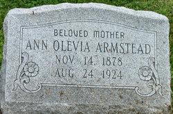 Ann Olevia <I>Boone</I> Armstead
