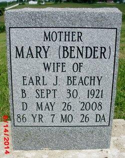 Mary <I>Bender</I> Beachy