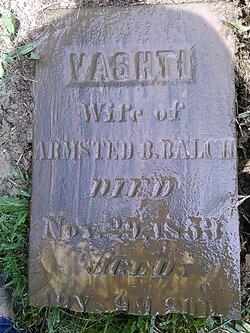 Vashti <I>Catherwood</I> Balch