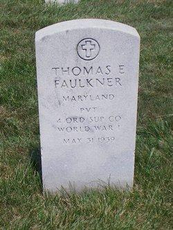 Thomas E Faulkner