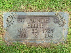 """Leo """"Auntie"""" Eller"""