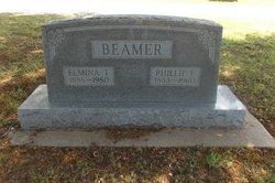 "Talitha Elmina ""Mina"" <I>Burks</I> Beamer"