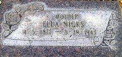 Ella Nicks